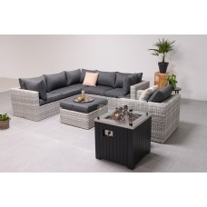 Cozy Living sfeerhaard Faro   carbon black aluminium / 60x60