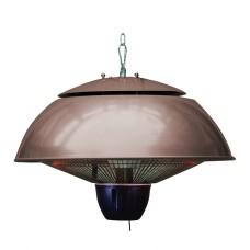 Bordeaux hangende heater 43CM taupe / 1500W