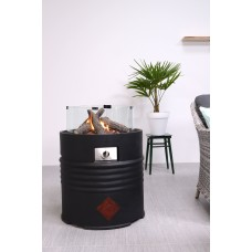 Cozy living sfeerhaard Barrel black /