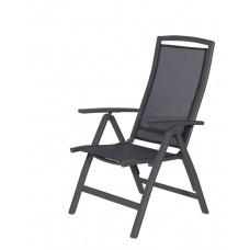 Saphir verstelbare stoel      carbon black/ antraciet