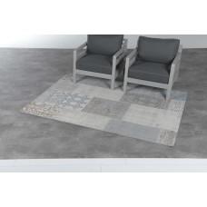 Blocko karpet 120x170         grey/blue