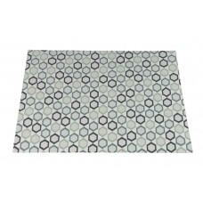 Hexagon karpet 120x170        green