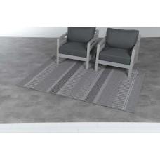Stripes karpet 200x290        dark grey