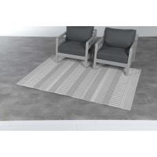 Stripes karpet 120x170        light grey