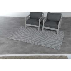 Hides karpet 200x290          zebra grey