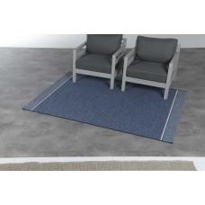 Corona karpet 120x170         blue jeans