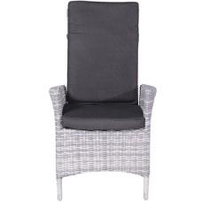 Cuba verstelbare fauteuil     cloudy grey H