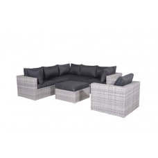Silverbird lounge set 4-dlg   cloudy grey H