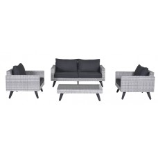 Cotes lounge set 4-dlg        cloudy grey H