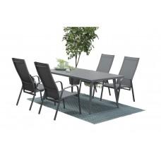 Pitsburgh verstelbare stoel   arctic grey/ grijs textileen