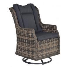 Osborne rocking fauteuil      desert wood 12x4,5/refl.black