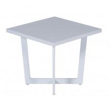 Ivy bijzettafel               47,5x47,5xH42 mat white