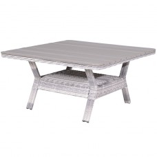 Milwaukee tafel 126,5x126,5x70cloudy grey H