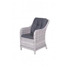 Milwaukee dining fauteuil     cloudy grey H
