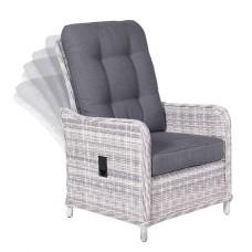 Milwaukee verstelbare fauteuilcloudy grey H