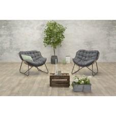 Luna relax fauteuil           natural/ reflex black