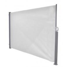 Windscherm oprolbaar 180x300  arctic grey/ off-white
