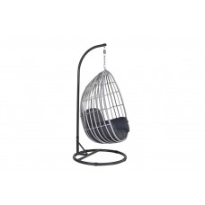 Panama swing chair egg        carbon bl./cloudy grey/ref.bl.