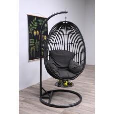 Panama swing chair egg        carbon bl./earl grey/dark grey