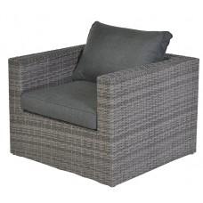Orangebird lounge fauteuil    organic grey 2-half/ antraciet