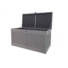 Kussenkist 680L 146,4x71x74,9cm Mid grey/Dark grey
