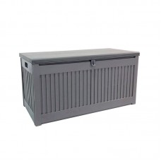 Kussenkist 490L 146,4x61x64,4cm Mid grey/Dark grey