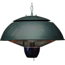 Bordeaux hangende heater 43CM carbon black / 1500W
