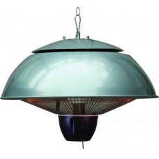 Bordeaux hangende heater 43CM arctic grey / 1500W