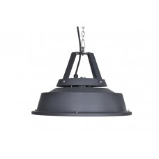 Retro hangende heater 43CM    carbon black / 1500W