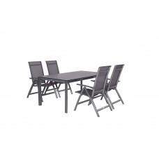 Gala verstelbare stoel        carbon black/ antraciet