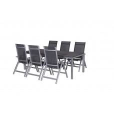 Gala verstelbare stoel        arctic grey/ antraciet