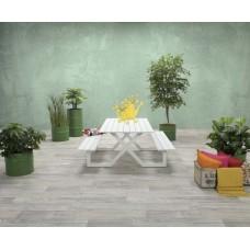 Napels picknick set           L180xW170xH71 mat wit