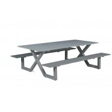 Napels picknick set           L210xW170xH71 arctic grey