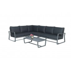 Reno lounge set 4-dlg         arctic grey/ reflex black