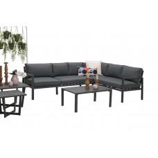 Lexinton lounge set 4-dlg     carbon black/ reflex black
