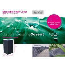 Coverit stapelbare stoel hoes 67x67xH109