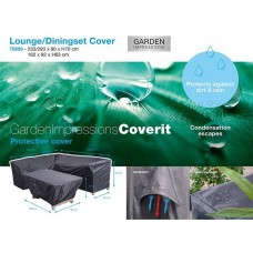 Coverit lounge/dining hoes    233/293x90xH70 & 162x92xH63