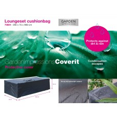Coverit loungeset kussentas   200x75xH60