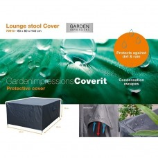 Coverit lounge hocker hoes    77x77xH40