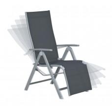 Sol relax stoel arctic grey/ antraciet