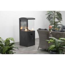 Cozy living sfeerhaard Sevillacarbon black 55x55xH151