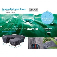 Coverit lounge/dining hoes    253/223x80xH65 & 152x92xH62