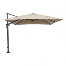 Hawaii parasol 300x300 carbon black/ taupe