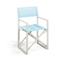 Suns Director chair Bleu warm white