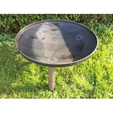 Vuurschaal/firebowl plat 75 cm